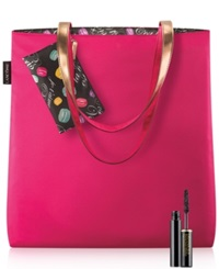 Lancome Receive A Tote Wristlet And Mini Mascara