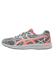 Asics Endurant Neutral Running Shoes Carbon Flash Coral Silver Grey