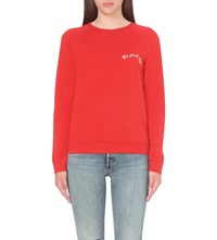 Levi's The Good Life Cotton Jersey Sweatshirt Cherry Bomb