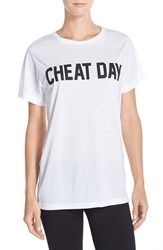 Women's Private Party 'Cheat Day' Graphic Tee
