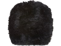 Barneys New York Women's Fur Slouchy Beanie Black