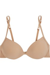 Bodas Sheer Tactel Stretch Jersey Padded Bra Neutral