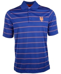 Antigua Men's Short Sleeve New York Mets Polo Royalblue