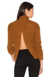 Lovers Friends X Revolve Tia Sweater Cognac