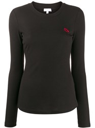Lala Berlin Embroidered Long Sleeve Top 60