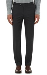 Isaia Gregory Trousers Black