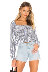 Cleobella Seville Top Blue