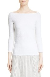 Theory Women's Ennalyn Smocked Ballet Tee