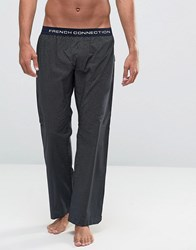 French Connection Spot Lounge Bottoms Blue