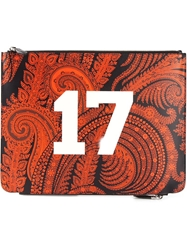 Givenchy Paisley Print Clutch