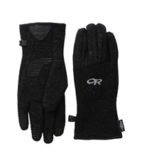 Outdoor Research Flurry Sensor Gloves Black Extreme Cold Weather Gloves