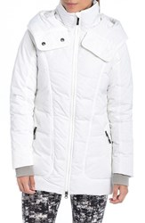 Lole Women's 'Nicky' Hooded Insulated Jacket White