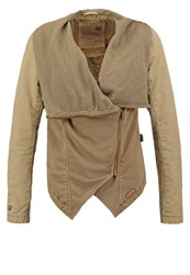 Khujo Buffi Summer Jacket Sand Beige