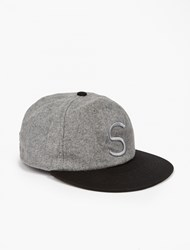 Saturdays Surf Nyc Grey Rich Wool Cap