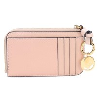 Chloe Alphabet Leather Wallet Pink