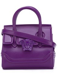 Versace 'Palazzo Empire' Crossbody Bag Women Leather One Size Pink Purple