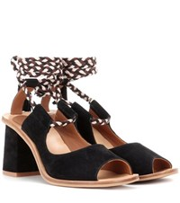 See By Chloe Exclusive To Mytheresa.Com Suede Sandals Black