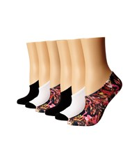Converse Sublimation Torn Up Print Pink White Black No Show Socks Shoes