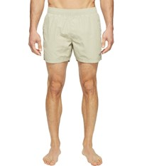 The North Face Class V Pull On Trunk Short Granite Bluff Tan Men's Swimwear White