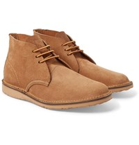 Red Wing Shoes Weekender Rough Out Leather Chukka Boots Tan