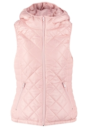 Only Onlright Waistcoat Silver Pink Rose