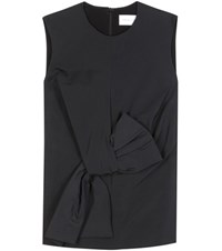 Victoria Beckham Twist Bow Blouse Black