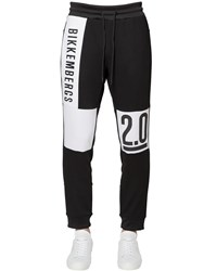 Bikkembergs Logo Printed Cotton Sweatpants