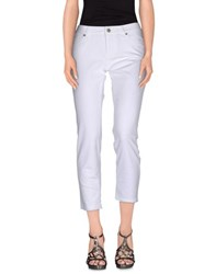 Roy Rogers Roy Roger's Denim Denim Trousers Women White
