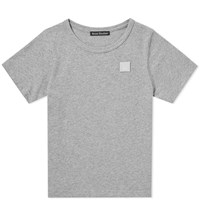 Acne Studios Mini Nash Face Tee Grey