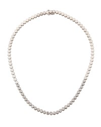 Diana M. Jewels 14K Diamond Front Necklace