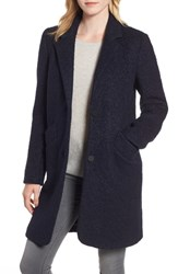 Marc New York Pressed Boucle Coat Ink