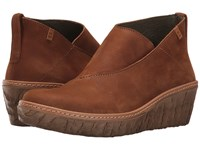 El Naturalista Myth Yggdrasil N5131 Wood Shoes Brown