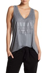 Colosseum Think Fit Tank Gray