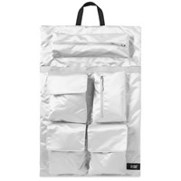 Eastpak X Raf Simons Large Couple Poster Backpack Silver