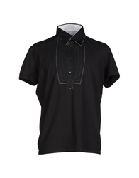 Dirk Bikkembergs Sport Couture Polo Shirts Black