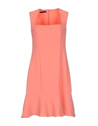 Nuvola Dresses Short Dresses Women Salmon Pink
