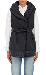 Bacon Women's Hooded Gilet Black