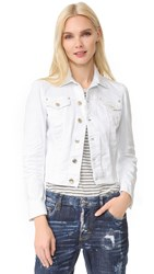 Dsquared Jean Jacket White