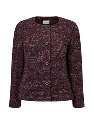 Eastex Boucle Jacket Multi Coloured Multi Coloured