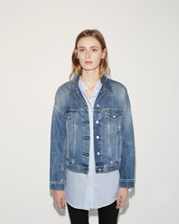 Acne Studios Lab Denim Jacket Natural Mid Vintage
