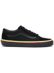 Vans Lace Up Sneakers Black