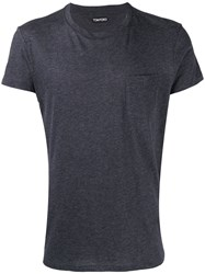Tom Ford Chest Pocket T Shirt Grey