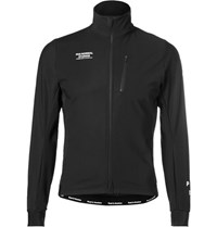 Pas Normal Studios Winter Zip Up Shell Cycling Jacket Black