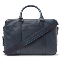 Shinola Leather Briefcase Storm Blue