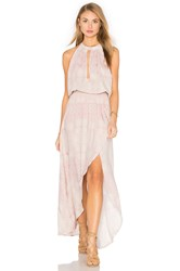 Stillwater Tie It Back Dress Blush