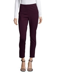 Ivanka Trump Sleek Ponte Leggings Malbec