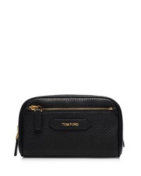Tom Ford Beauty Small Leather Cosmetics Bag Black