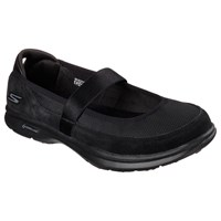 Skechers Go Step Snap Mary Jane Trainers Black