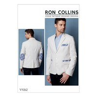 Vogue Men's Blazer Sewing Pattern 9262