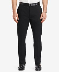 Polo Ralph Lauren Men's Big And Tall Stretch Classic Fit Chino Pants Black